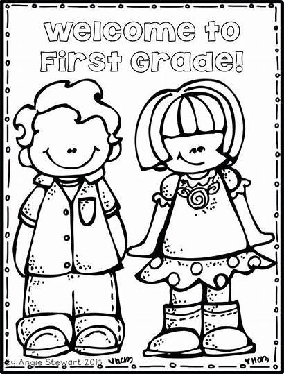 Grade Coloring Pages Welcome Second 6th Math