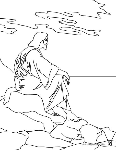 jesus   mount  olives coloring pages hellokidscom