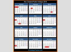 New Zealand Public Holidays 2018 – Holidays Tracker