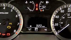 2014 Nissan Sentra - Warning And Indicator Lights