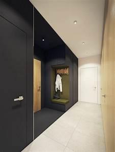 Couloir Gris Et Blanc : d corer un couloir plus de 70 id es en photos pour vous ~ Melissatoandfro.com Idées de Décoration