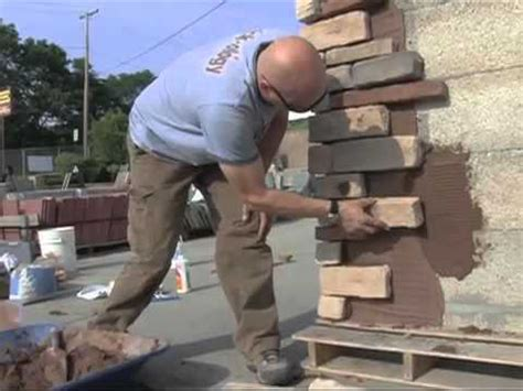 Do it yourself video - Creating Stone work with Veneer or ...