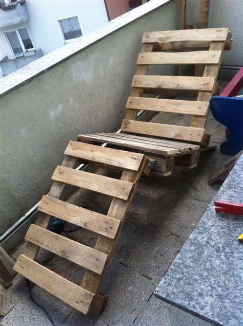 diy garden furniture canvas chair pallet sunbed