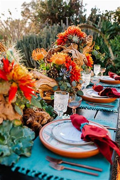 idees exotiques pour ensoleiller vos tables de mariage