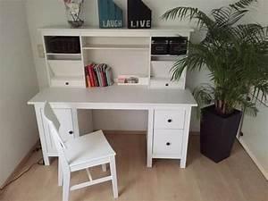 Schreibtisch Mit Aufsatz : ikea schreibtisch wei hemnes ~ Orissabook.com Haus und Dekorationen