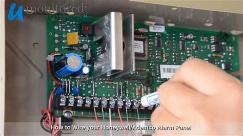 Honeywell How Wire Your Alarm Panel Youtube