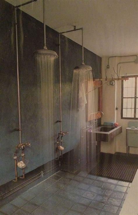 In Shower by Best 25 Industrial Showers Ideas On