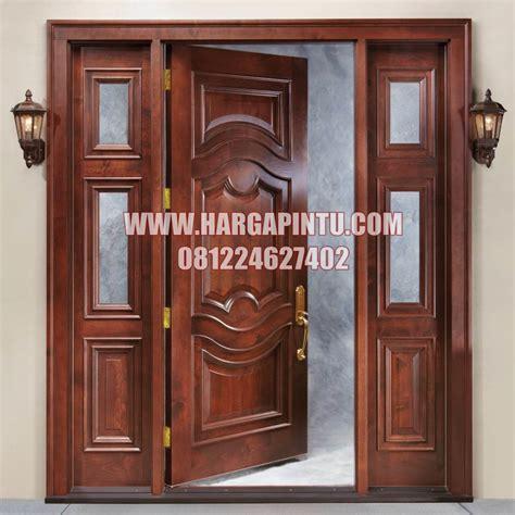 pintu rumah utama modern klasik kayu jati harga pintu harga pintu