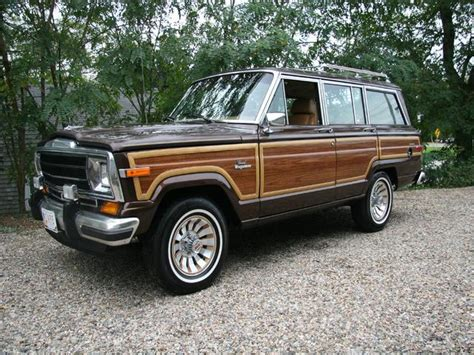 jeep grand wagoneer woody cape   cars