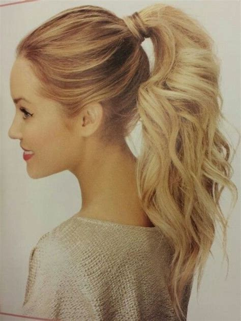 437 Best High Ponytail Images On Pinterest Hairstyles