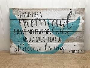 25+ unique Mermaid wall art ideas on Pinterest Mermaid