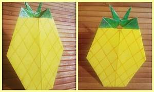 How To Make Origami Pineapple  Fruits Of Origami  Origami