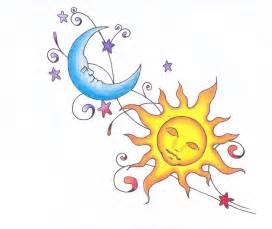 Sun Moon and Stars Drawings