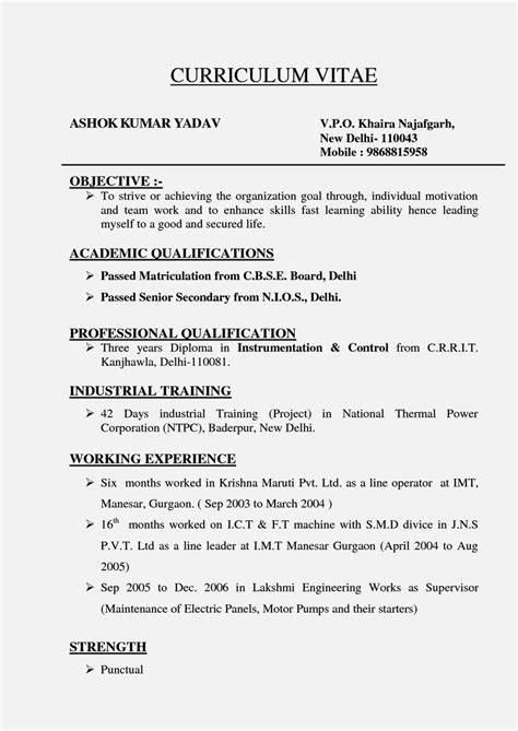 Types Of Resume by Different Kinds Of Resume Resume Template Cover Letter
