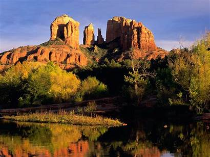 Arizona Desktop Desert Sedona Wallpapers Wallpapersafari Views