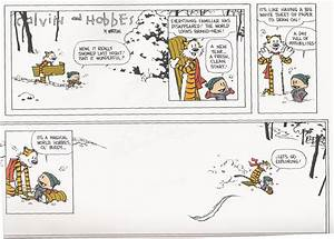 Calvin and hobbes comics winter snow christmas wallpaper ...