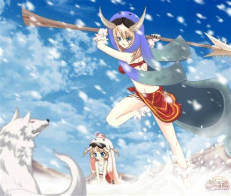 Anime Winter Scenery Wallpaper - la tale choky seal and shaggy anime fight winter scenery