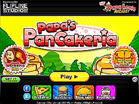 papa s pancakeria un des jeux en ligne gratuit sur jeux jeu fr