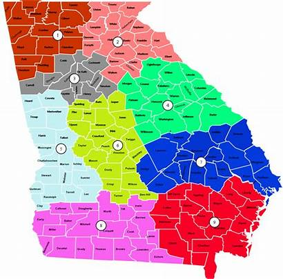 Regions Mccd Dps Georgia Map Department Safety