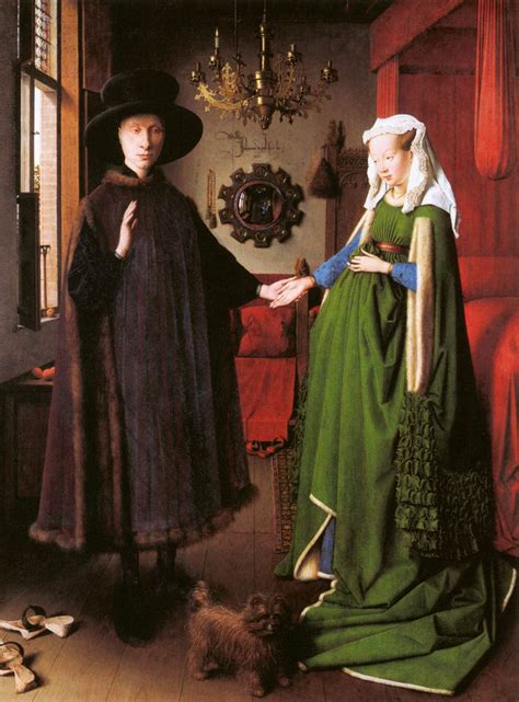 portrait  giovanni arnolfini   wife