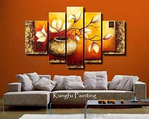 Wall Art Decoration with Wallpapers, Paintings and