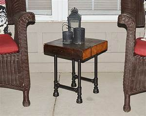 barn wood end tables home furniture design With barn style end tables