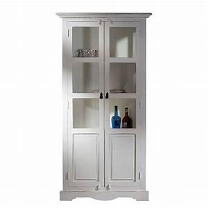 Nachtschrank Antik Weiß : vitrinenschrank f rstenau mangoholz mdf antik wei ~ Sanjose-hotels-ca.com Haus und Dekorationen