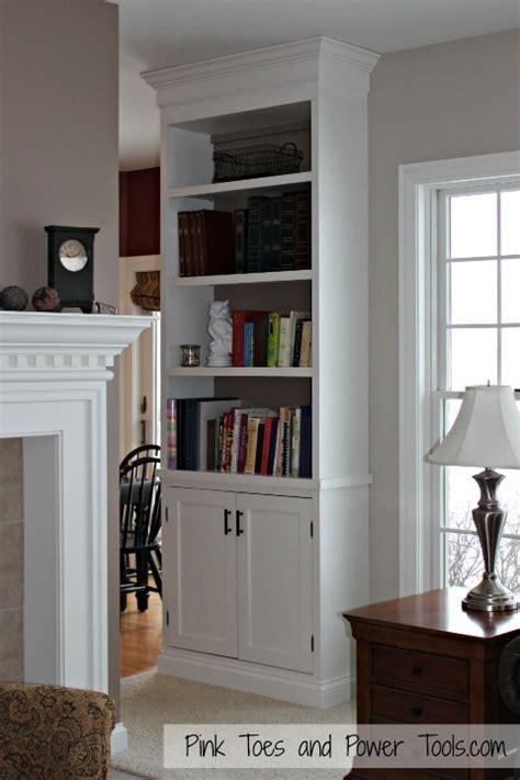 ana white built  cabinet  bookshelf diy projects