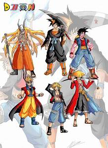 Naruto cross overs and Fusions.