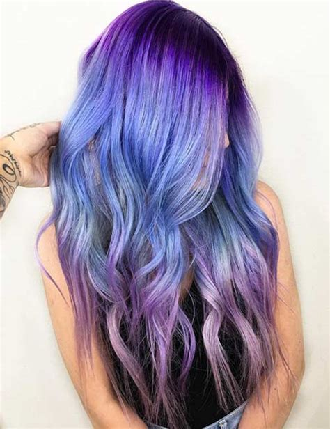 20 Breathtaking Purple Ombre Hair Color Ideas Blushery