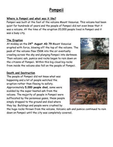 pompeii  leighbee teaching resources tes