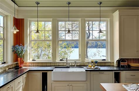 the cottage around the corner window treatments door decorate calico corners window coverings corner window farmhouse style interiors ideas inspirations