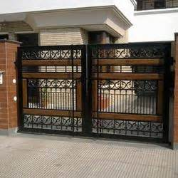 new home designs modern homes iron entrance