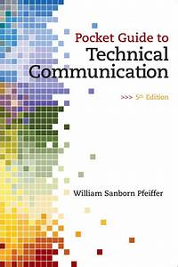 Pfeiffer  Pocket Guide To Technical Communication  5th Edition