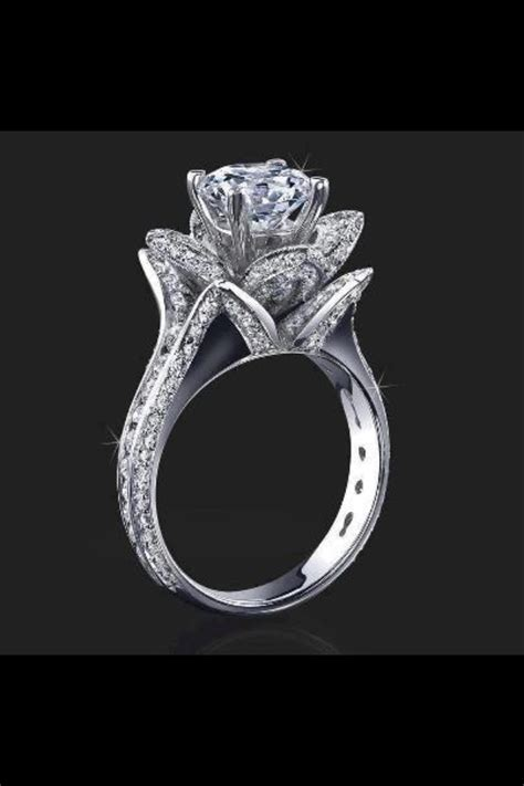 Tulip Wedding Ring! This Is A Must One Day My Dream. 5 Carat Wedding Rings. Navy Wedding Wedding Rings. Rabia Rings. Demand Wedding Rings. Cool Mens Wedding Wedding Rings. Skinny Wedding Rings. 2 Birthstone Rings. Wave Shaped Engagement Rings