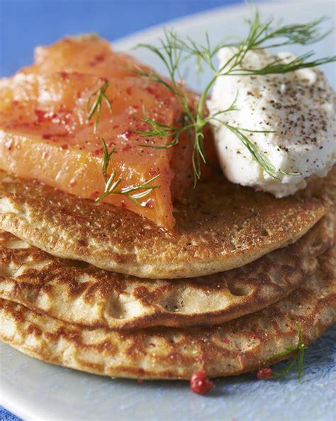 mais cuisine recette blinis de sarrasin et maïs cuisine madame figaro