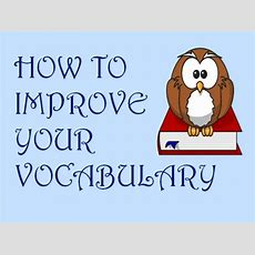 How To Improve Your Vocabulary? Meritnation