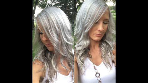 White Hair by How I Get Silver Grey White Hair