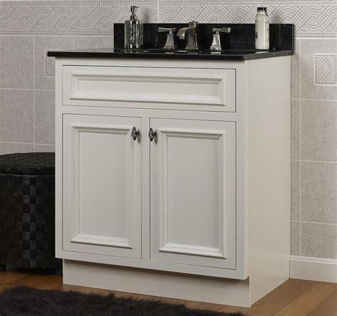 jsi danbury white bathroom  vanity cabinet base