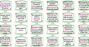 A to Z list of ... Instructional Material Quotes