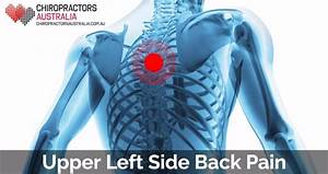 Causes Of Upper Back Pain On Left Side