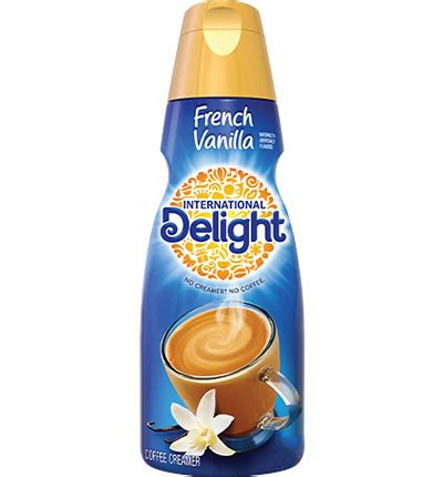Most coffee creamers list nutrition facts for just one tablespoon. International Delight Creamer 16oz French Vanilla - Perrine's Produce