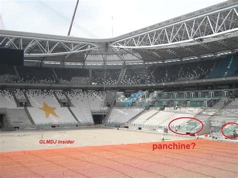 Juventus Stadium Panchine le panchine nel nuovo stadio