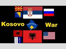 War Simulation 2nd Kosovo War Albania vs Serbia YouTube