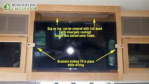 How To Install A Flat Screen Tv In Rv    Motor Home