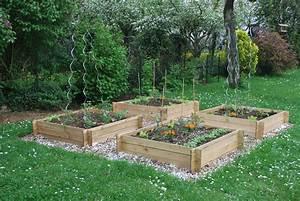 Jardin En Carré : jardin carre potager plantes astuces accueil design et ~ Premium-room.com Idées de Décoration