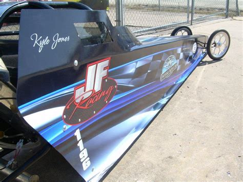 In this edition of dr. JF Racing Jr Dragsters | Precision Sign & Design