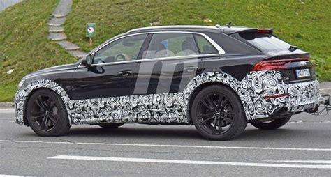 Spyshots Audi Rs Q8  Audi Se Lance Dans Le Segment Du