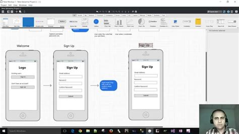sign up mobile how to wireframe the sign up ui for a mobile application