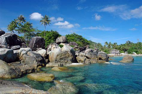 foto pantai tanjung tinggi beach bangka belitung laskar